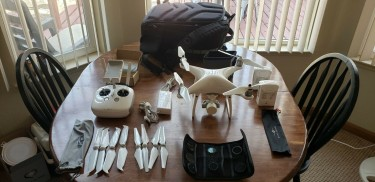 DJI Phantom 4 Advanced 4K Camera Drone