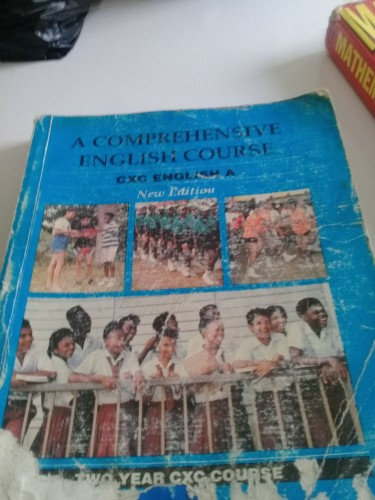 ENGLISH A CXC BOOK Only $1000