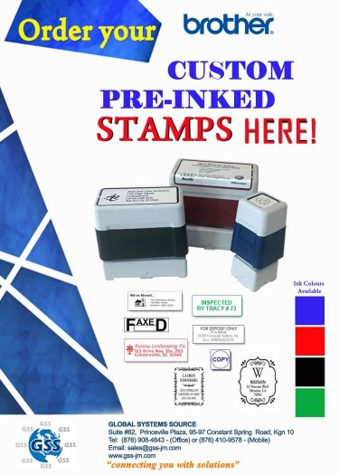 Brother Self Inking Stamp
