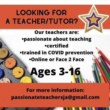 Teachers Available