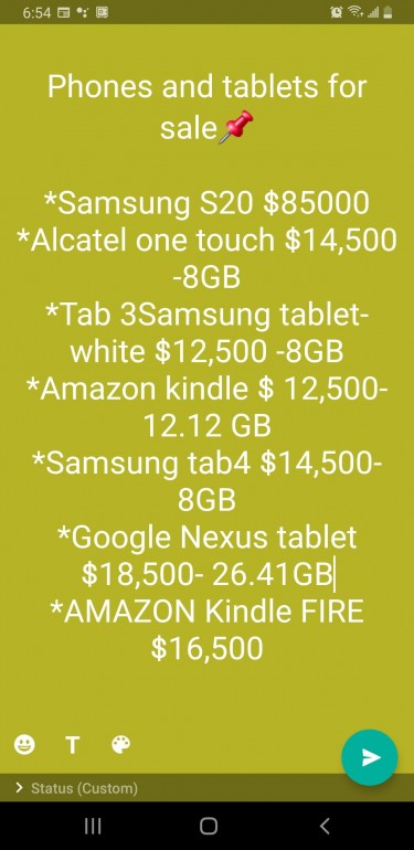 Tablets And Samsung S20