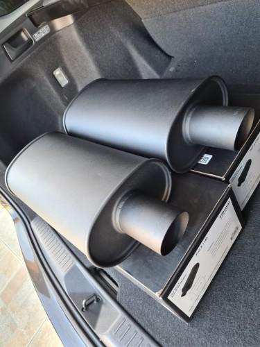 Vibrant Performance Exhaust 2.5 Inlet