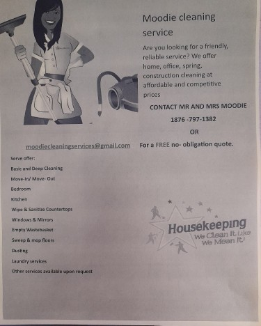 Moodie Cleaning Services