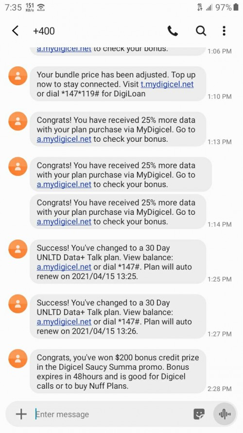 Digicel Data Plans And Call Plans