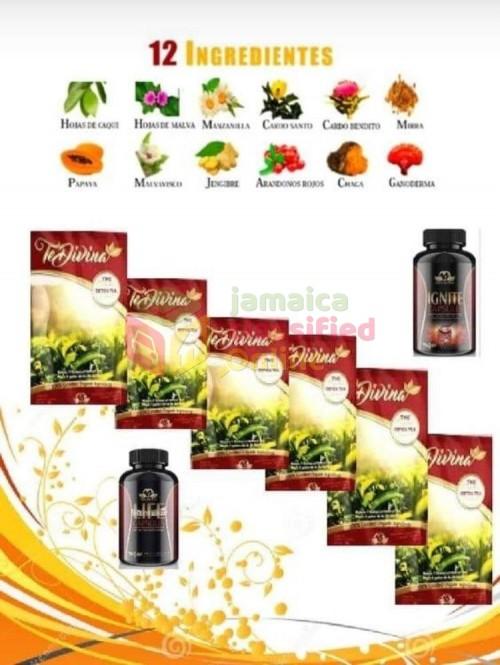 Vida Divina Detox Tea With Weight Control.