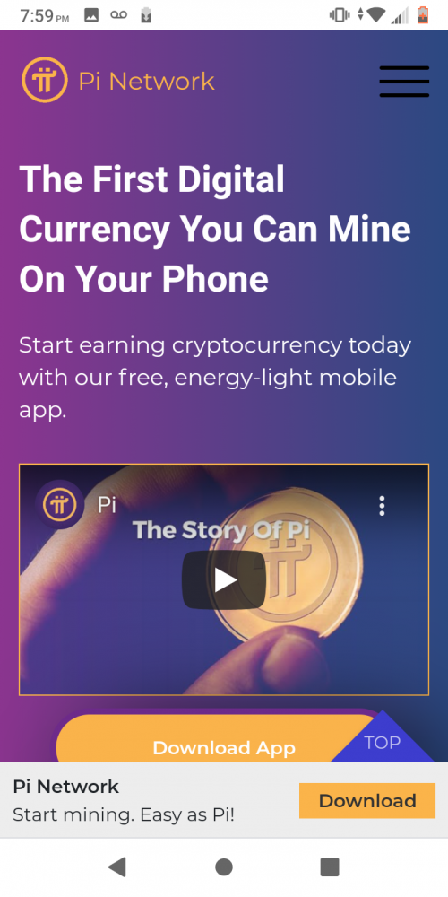 Pi Crypto Currency
