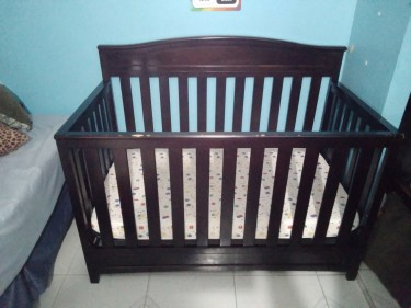 Delta 4 In 1 Convertible Crib With Mattress
