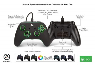 XBOX RGB WIRED CONTROLLER