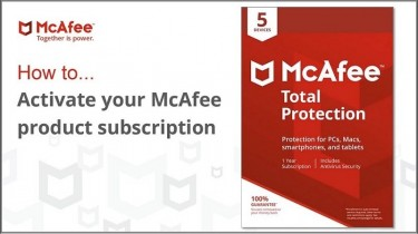 McAfee.com/Activate - Enter Your Code - Download