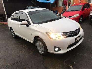 2013 Toyota Axio $1.150mil Neg
