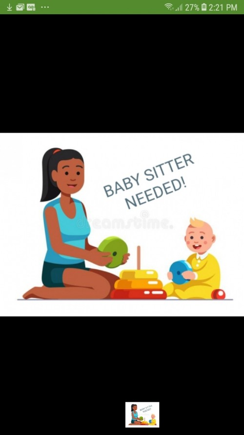 BABY SITTER NEEDED IN PORTMORE A.S.A.P!