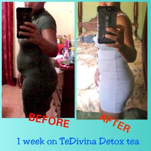 Tedivina Detoxing Flat Belly Tea, No More PCOS Etc