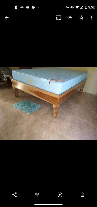 Real Natural Wood Bed Spinach M And Morgany
