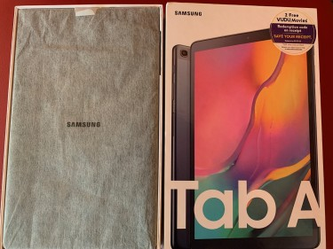 Open Box 2019 Samsung Galaxy Tab A 10.1 32GB Stora