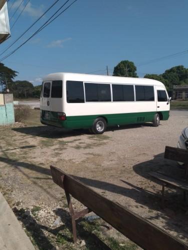 Newly Renovated Coaster Bus