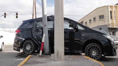 2011 TOYOTA WISH SCRAPPING ONLY!!