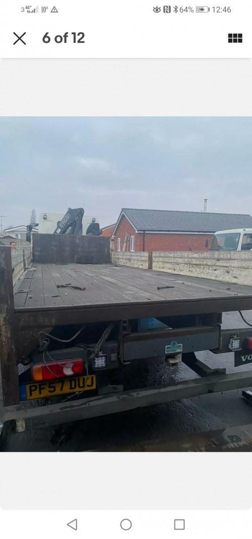Crane Hoist Truck