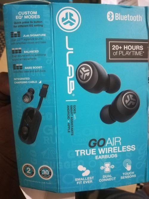 Jlab Go Air True Wireless Earbuds (Brand New)
