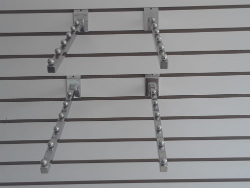 Store Hooks And Shoes Stand For Wall Grid