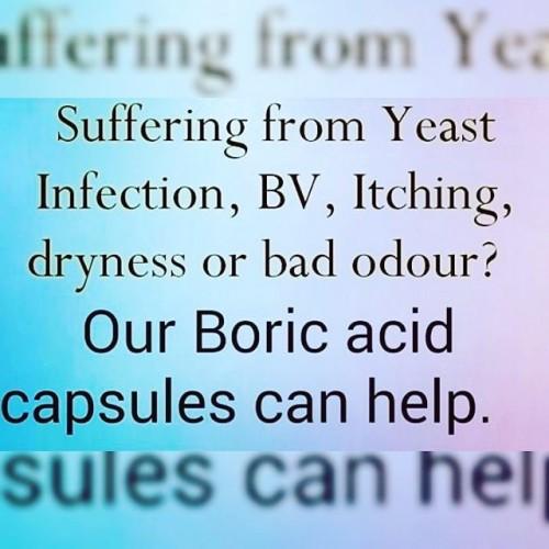 Boric Acid Capsules