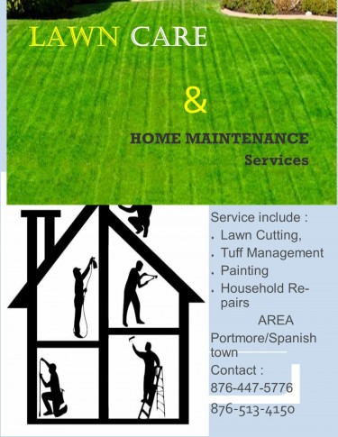 LAWN CARE And HOME MAINTENANCE Services