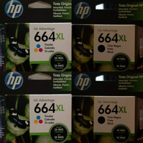 Original XL Hp 664 Printer Ink