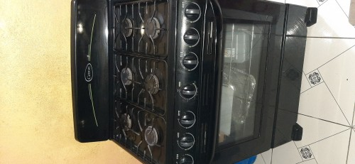 Used Big Six Burner Cetron Stove