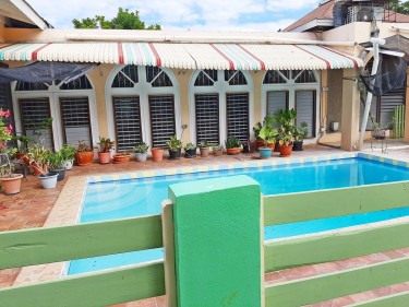 For Sale 4-Bedroom, 3-bathroom With Swimming Pool