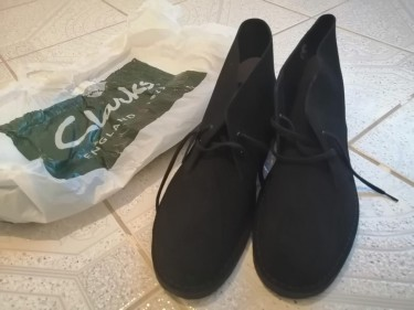 Black Desert Clarks, Size 13