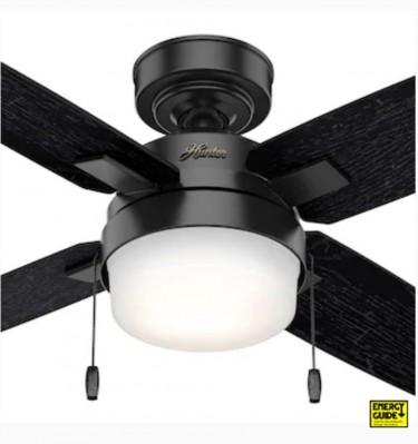 Remote Control LED Ceiling Fan