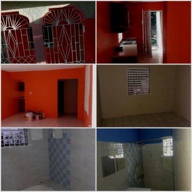 1 Bedroom With Living Room, Kitchen And Bathroom