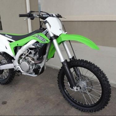 Yamahas YZ250FX Dirt Bike