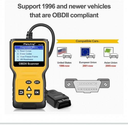 OBDII Scanner Car Diagnostic Reader