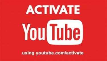 YouTube.com/activate - Enter 6-digit Activation
