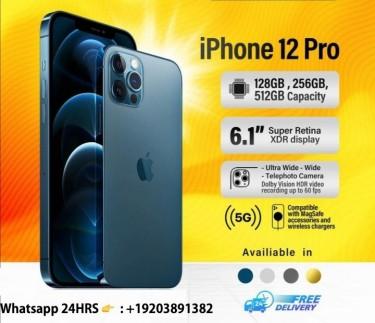 Apple IPhone 12 Pro Max - 512GB Gold (Unlocked)