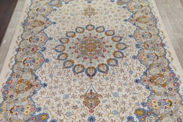 LARGE RUG. Authentic Wool Rug Thick Antique