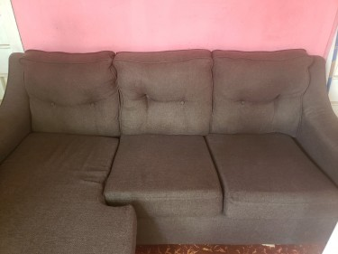 Lovely Brown Sectional