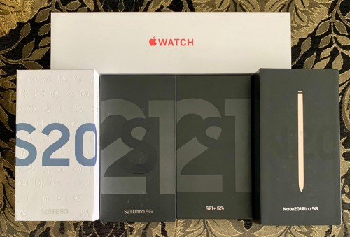 Brand New Sealed IN Box *iphone & Samsung