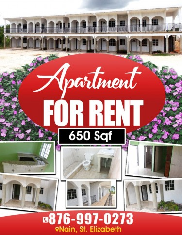1 Bedroom Apartment Apartments Nain District, St. Elizabeth