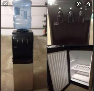 Water Cooler Fountain With Fridge