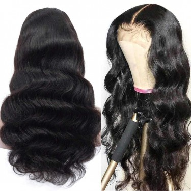 Alliggic Lace Front Wigs Human Hair Body Wave 18in