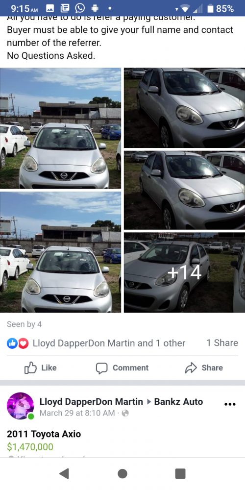 2013 Nissan March Perfect Condition New Tire Rims