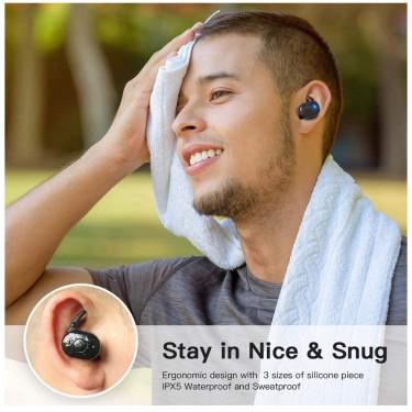 Vealvion Wireless Earbuds W/ 500MAH
