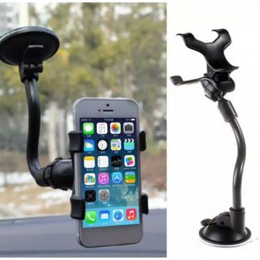 360° Vehicle Windshield &Dashboard Cellphone Mount