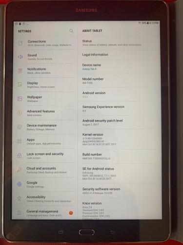 """Samsung Galaxy Tab A 9.7"""" 32gb/1.5gb Ram With Andr"""