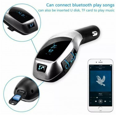Car Bluetooth FM Transmitter & MP3 Radio