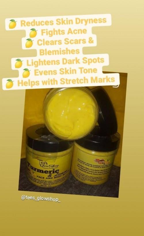 Tumeric & Lemon Face And Body Butter
