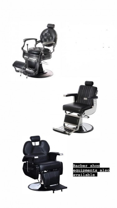 Barber Chairs And Other Equipments