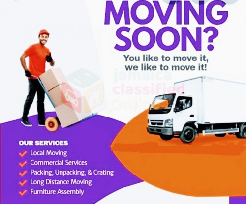 MOVING TRUCK SERVICES 24/7 (CLOSE UP TRUCK)