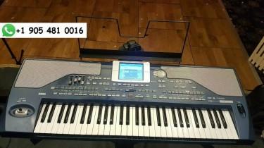 Korg Pa800 61-Key Professional Arranger Keyboard
